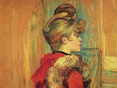 Перейти на Girl In A Fur Mademoiselle Jeanne Fontaine, 1891