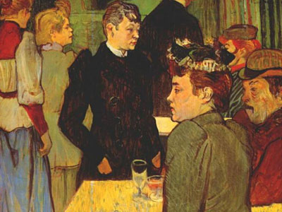 Перейти на Corner In The Moulin De La Galette, 1892