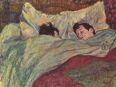 Перейти на In Bed, 1893