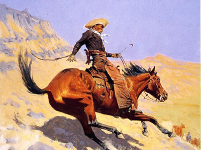 Перейти на The Cowboy, 1902