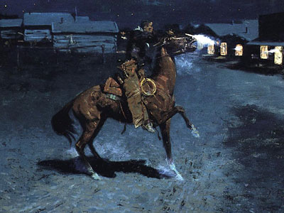 Перейти на An Arguement With The Town Marshall, 1907