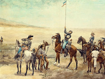 Перейти на Signaling The Main Command, 1885