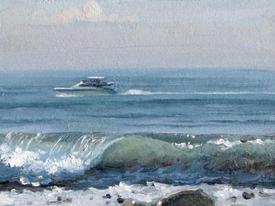 Перейти на Между Тем На Море...
