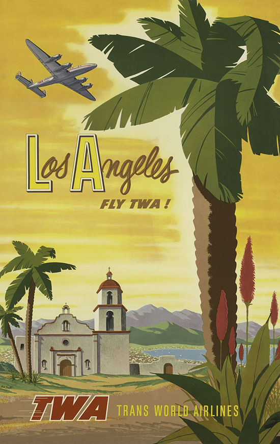 Los Angeles Fly Twa Trans World