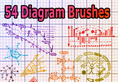 Скачать 54 Diagram Brushes