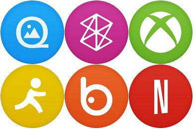Скачать Circle Addon1 Icons By Martz90