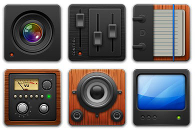 Скачать Variations 1 Icons By Guillendesign