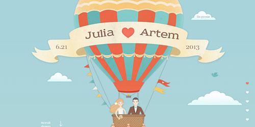 Перейти на Artem Julia Wedding