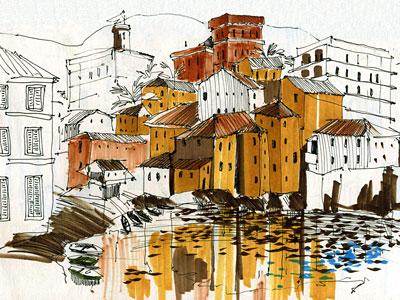 Перейти на Путевые Зарисовки, Генуя