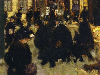 Перейти на Figures In The Street, 1894