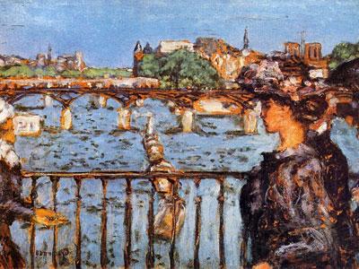 Перейти на The Pont Des Arts, 1905