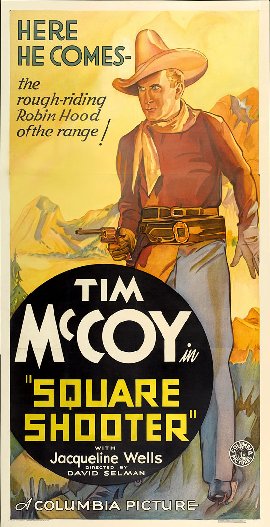 Square Shooter Tim Mccoy Vintage