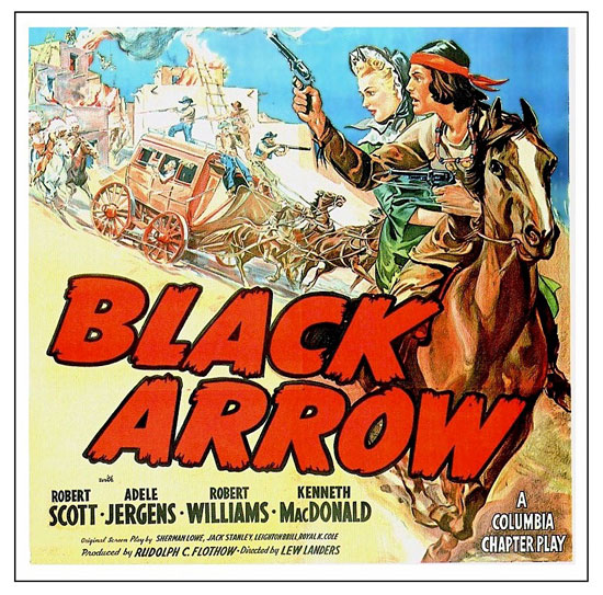 Black Arrow Vintage Western Cowboy