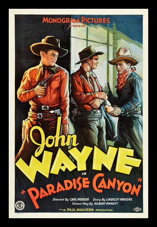 Paradise Canyon Jon Wayne Vintage