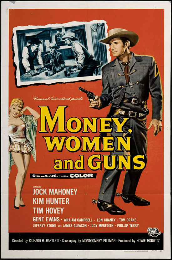 Money Women And Guns Vintage Western