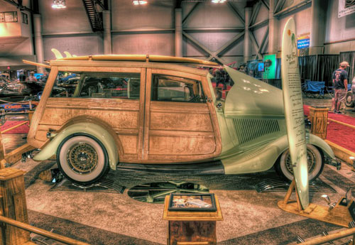 34 FORD WOODY