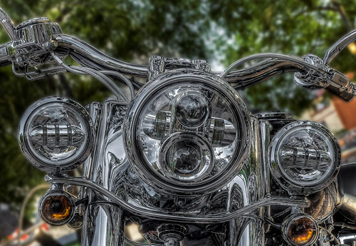 Harley Headlamp