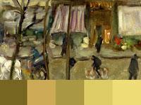 20 готовых цветовых палитр с картин художника Пьера Боннара