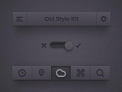 Old Style Ui Ki