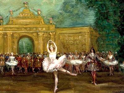 Перейти на Russian ballet