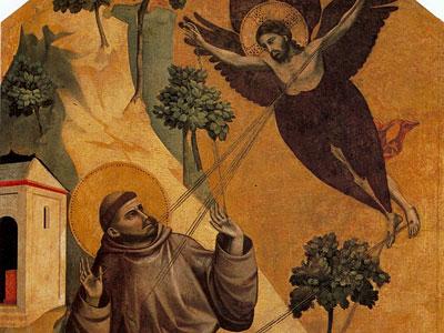 Перейти на St. Francis Receiving the Stigmata
