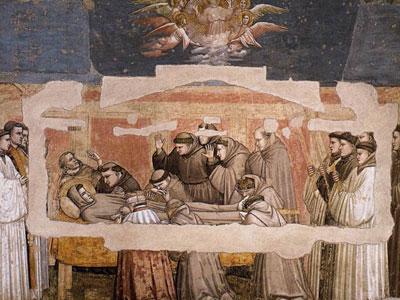 Перейти на The Death of St. Francis