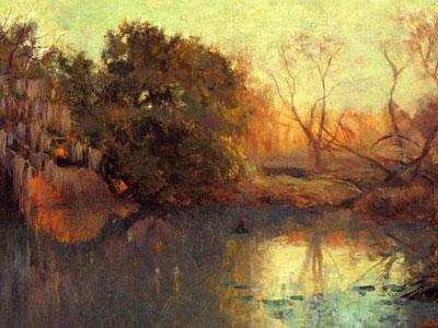 Перейти на On The San Antonio River, 1910