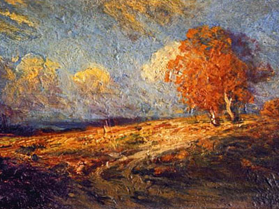 Перейти на Sunlit Hillside, 1909