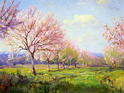 Перейти на Peach Orchard On Mavericks Farm, 1915