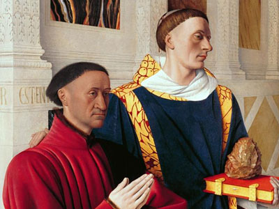 Перейти на Etienne Chevalier With St Stephen