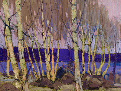 Перейти на Evening Canoe Lake, 1916