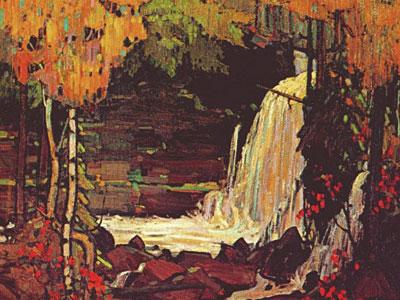 Перейти на Woodland Waterfall, 1916