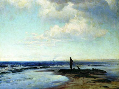 Перейти на At The Seashore, 1884