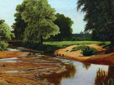 Перейти на Summer Landscape, 1877