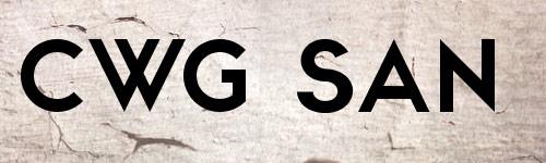 Перейти на Cwg Sans