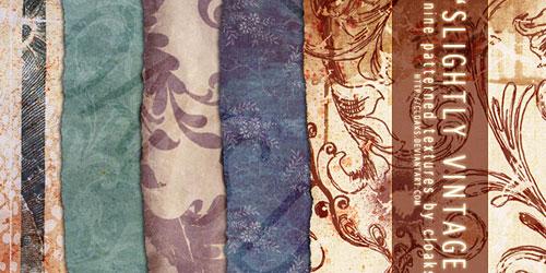 Перейти на Slightly Vintage Texture Pack