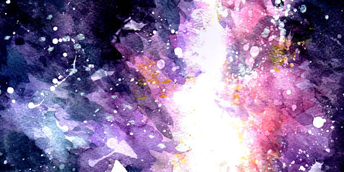 Перейти на Burst Galaxy Watercolor Texture