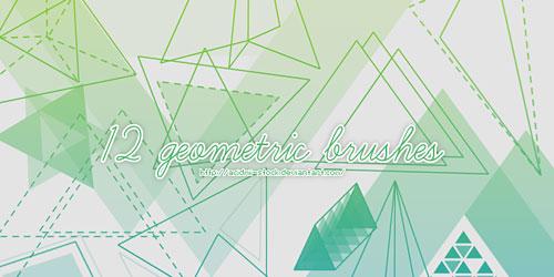 Перейти на 12 Geometric Brushes