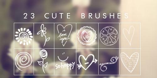 Перейти на Cute Brushes