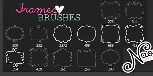 Перейти на Frames Brushes