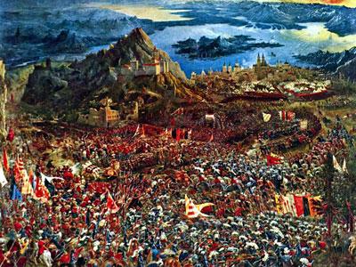Перейти на Битва Александра