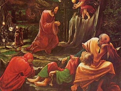 Перейти на Христос на Елеонской горе