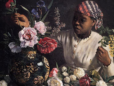 Перейти на Negress with Peonies