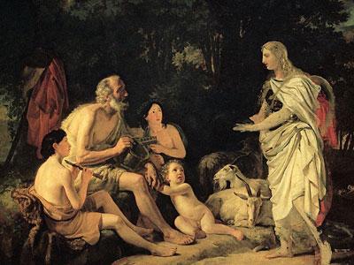 Перейти на Эрминия у пастухов