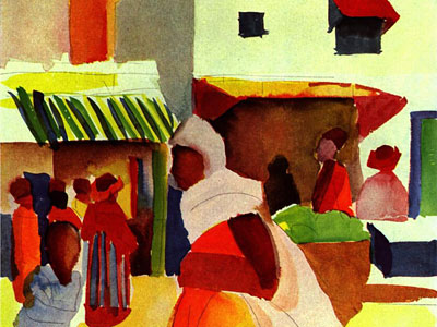 Перейти на Market in Algiers