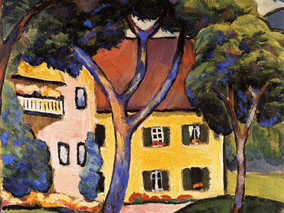 Перейти на House in a Landscape
