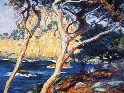 Перейти на Point Lobos Trees