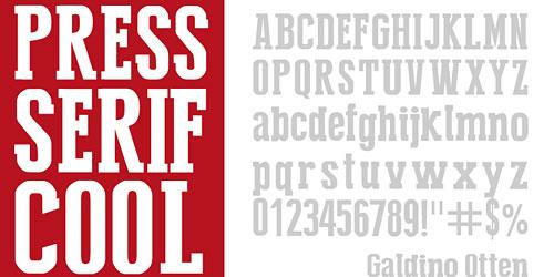 Перейти на Press Serif Cool