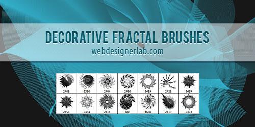 Перейти на Decorative Fractal Brushes