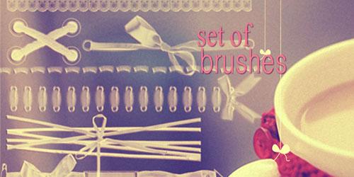 Перейти на Puntos Y Puntadas Photoshop Brushes